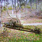 Story Inn Antique Farm Equipment by David Owens