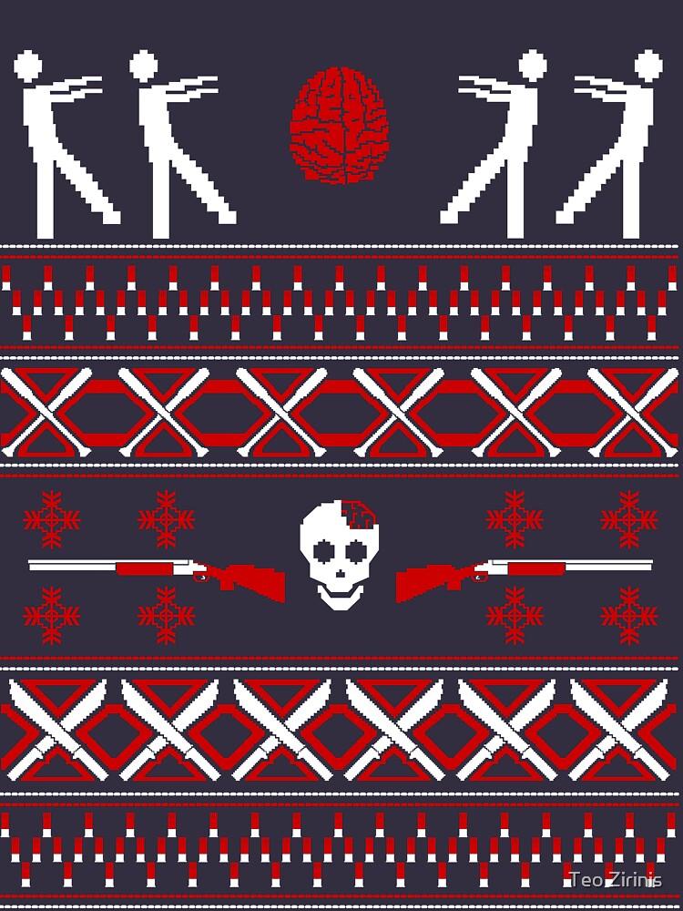 Zombie Christmas Shirt | Unisex T-Shirt