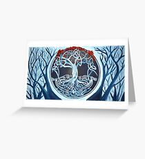 Heart tree (celtic style) Greeting Card