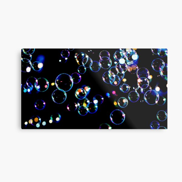 Soap Film Bubbles Metal Print