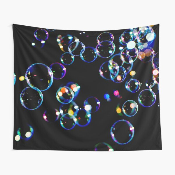 Soap Film Bubbles Tapestry