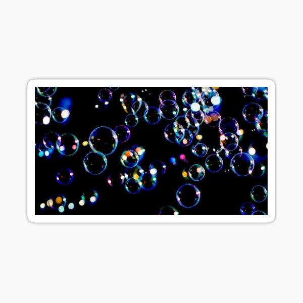 Soap Film Bubbles Sticker