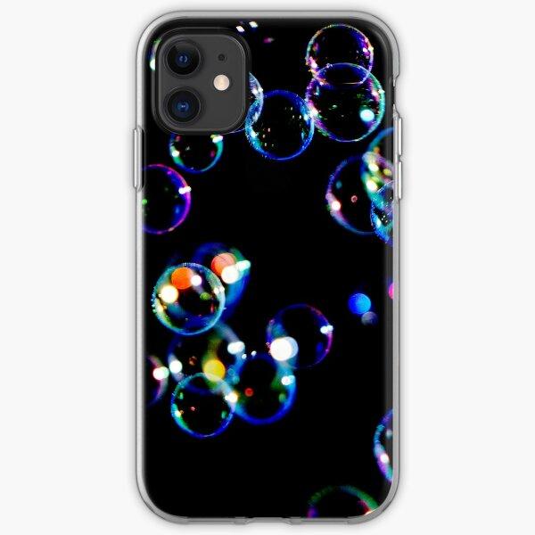 Soap Film Bubbles iPhone Soft Case