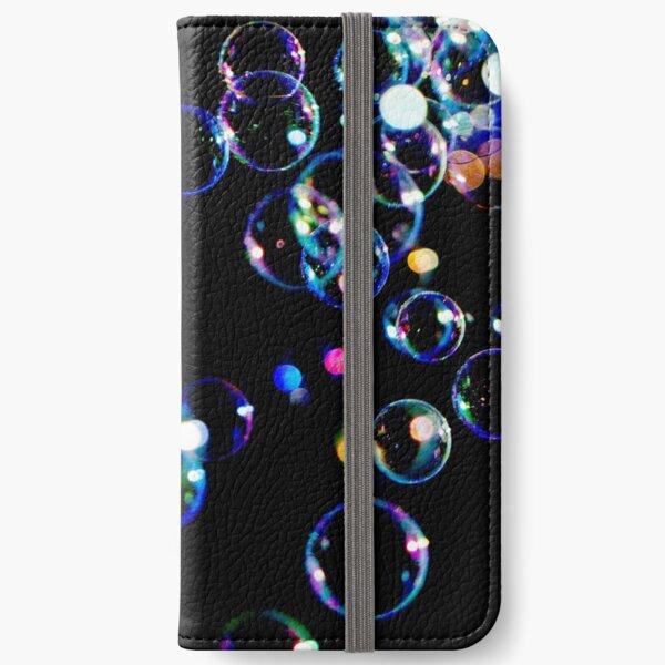 Soap Film Bubbles iPhone Wallet