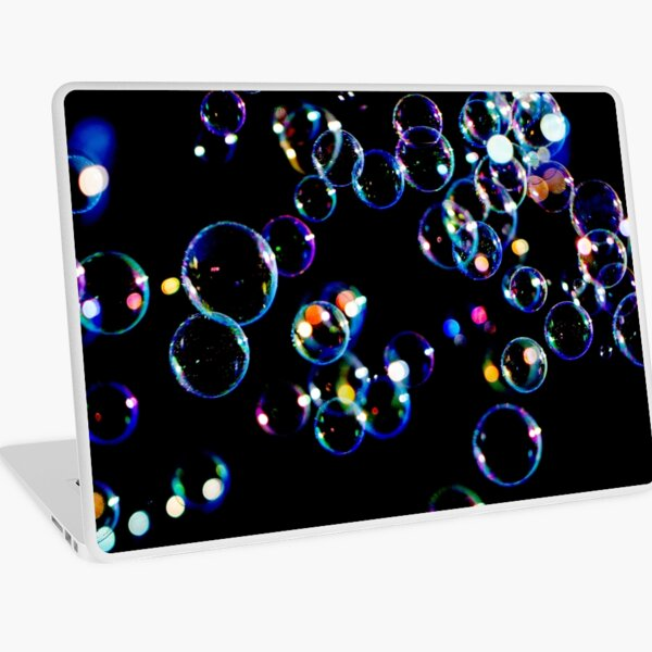 Soap Film Bubbles Laptop Skin