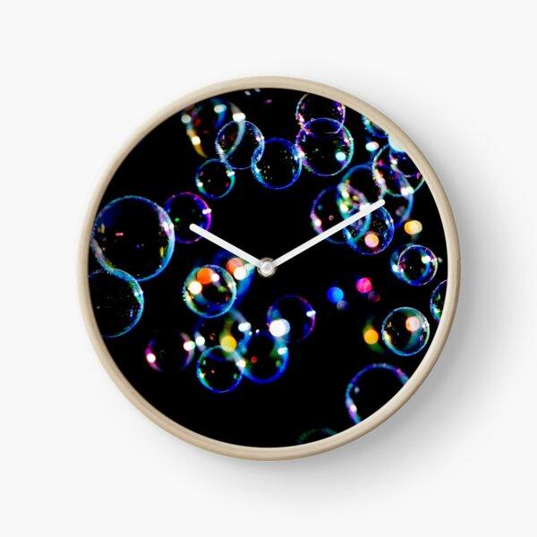 Soap Film Bubbles Clock