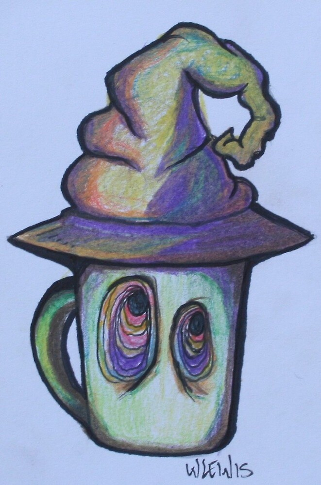 Witch's Brew by wlewiscreations