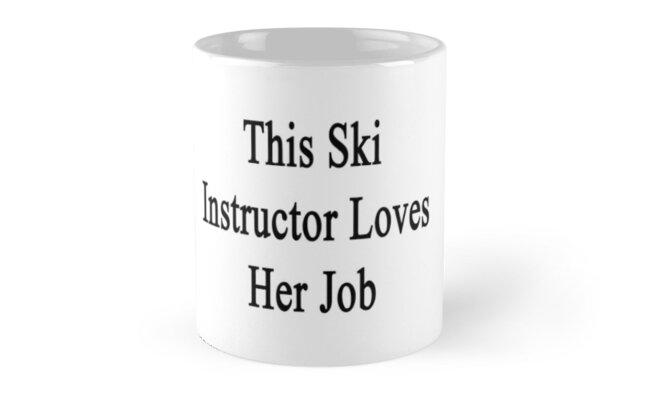 This Ski Instructor Loves Her Job by supernova23