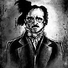 I am the Raven - Edgar Allen Poe by Vincent Carrozza