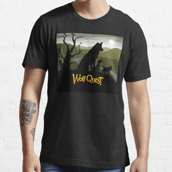 Wolf Family - WolfQuest Dream Essential T-Shirt