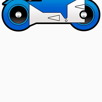 TRON Classic Lightcycle (Blue) by Eozen