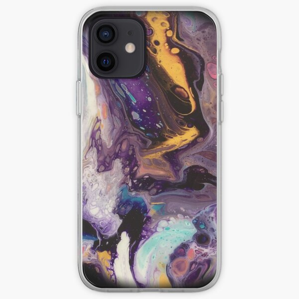 Fluid planet 4 iPhone Soft Case
