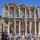 The Library and Monumental Tomb of Celsus by Patricia127