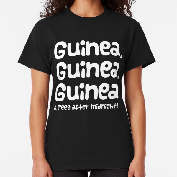 "Guinea Pig Slogan ""Guinea Guinea Guinea A Peeg After Midnight!"" Classic T-Shirt"