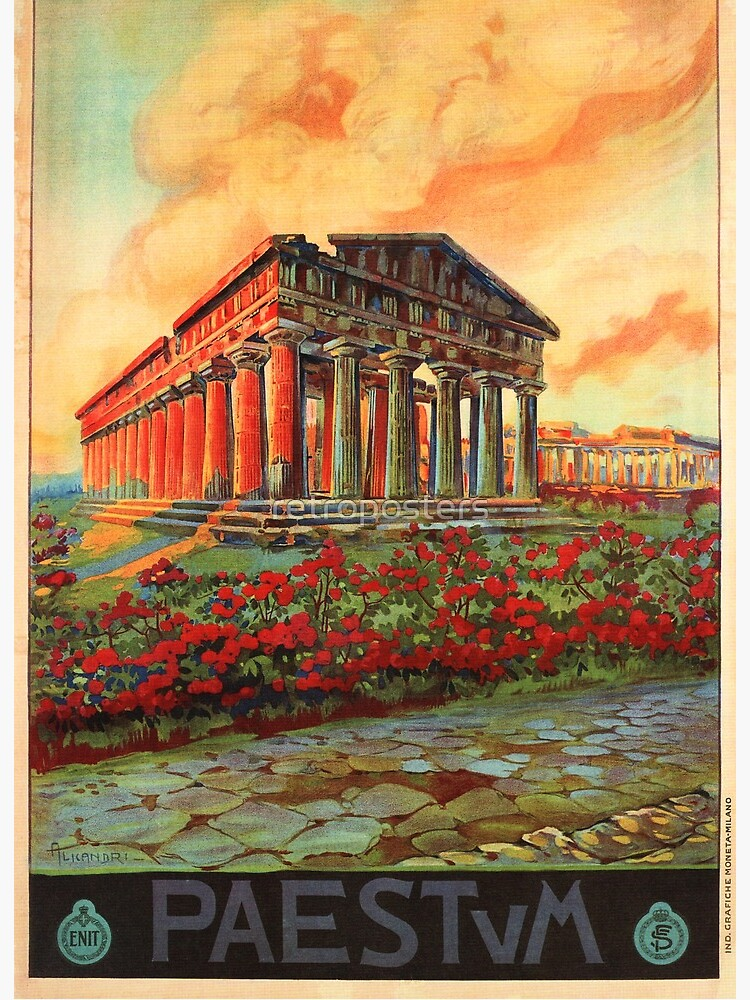 Greek Temple POSTER