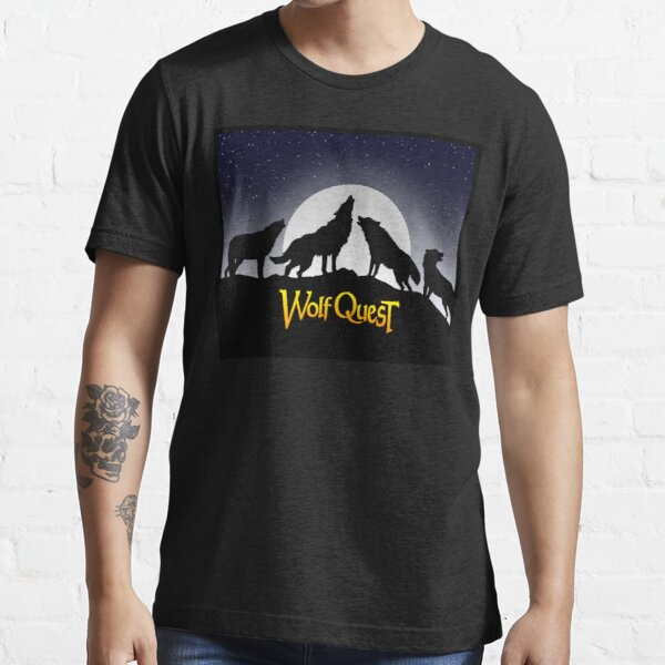 Full Moon Pack Howl - WolfQuest Dream Essential T-Shirt