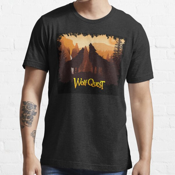 Tower Fall Howl - WolfQuest Dream Essential T-Shirt