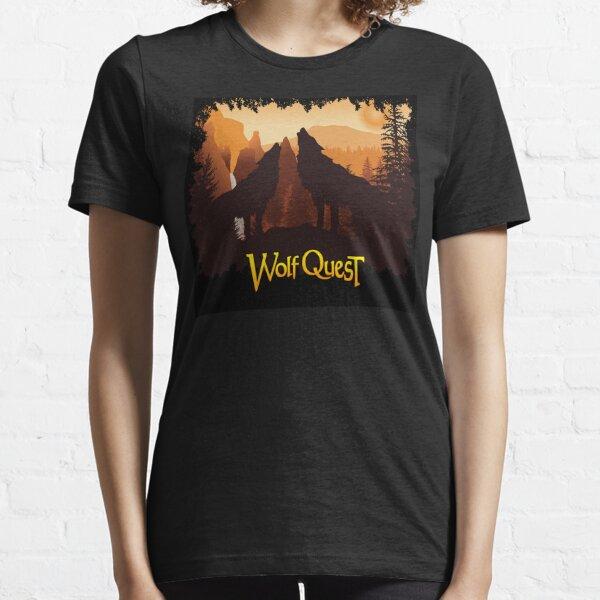 Tower Fall Howl - WolfQuest Dream Essential T-Shirt