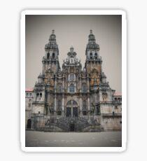 Cathedral of Santiago De Compostela Sticker