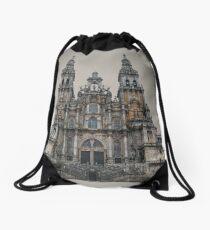 Cathedral of Santiago De Compostela Drawstring Bag