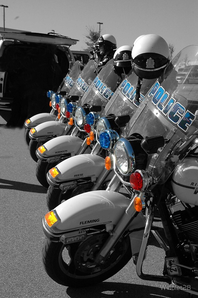 Lined Up, Ready to Go by Wviolet28