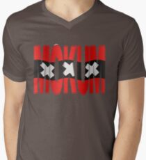 Mokum + Amsterdam vlag Mens V-Neck T-Shirt