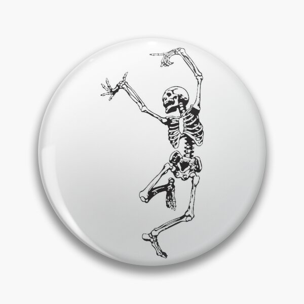 Dance With Death Pin