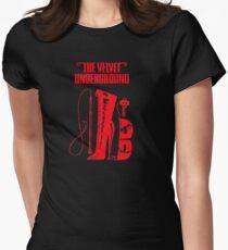 Velvet Underground Shirt Womens Fitted T-Shirt