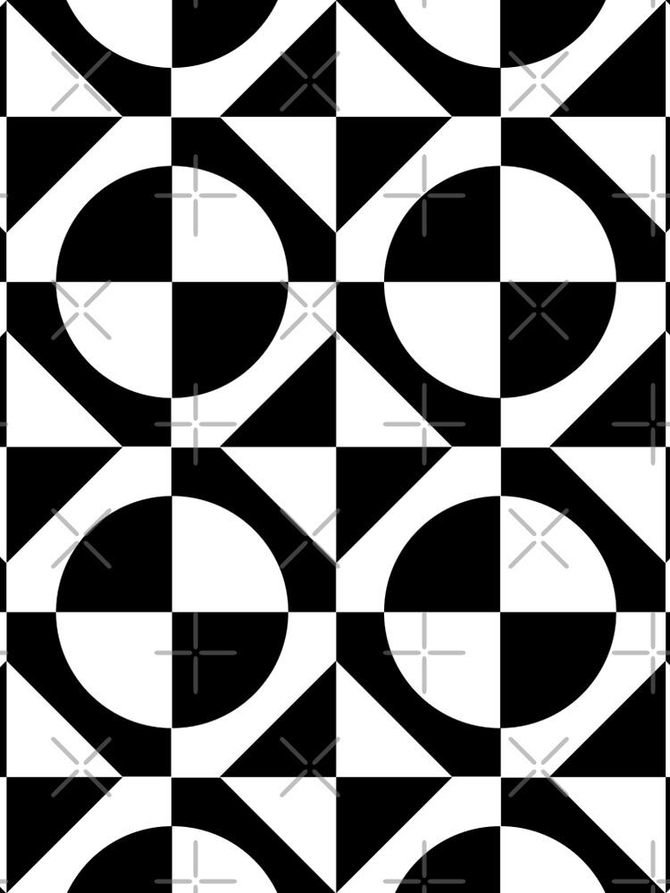 Black & White 1960's Style Two Tone Ska Mod by ImageMonkey