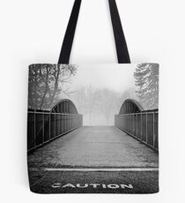 caution. Tote Bag