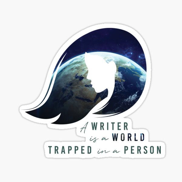 World in a Person Sticker