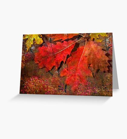 Glow of October Greeting Card