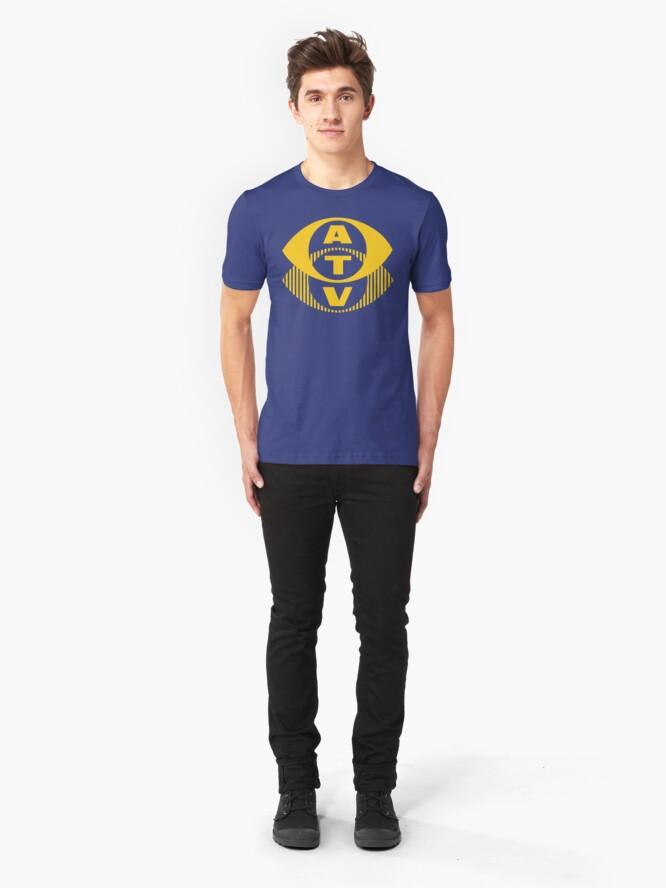 Alternate view of NDVH ATV Slim Fit T-Shirt