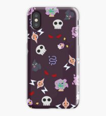 Ghost Pokemon iPhone Case/Skin