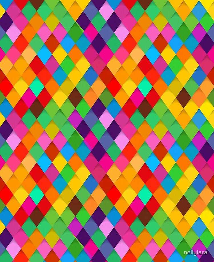 Birds Of Prey Colorful Diamonds Ipad Case Skin By Nellylara Redbubble