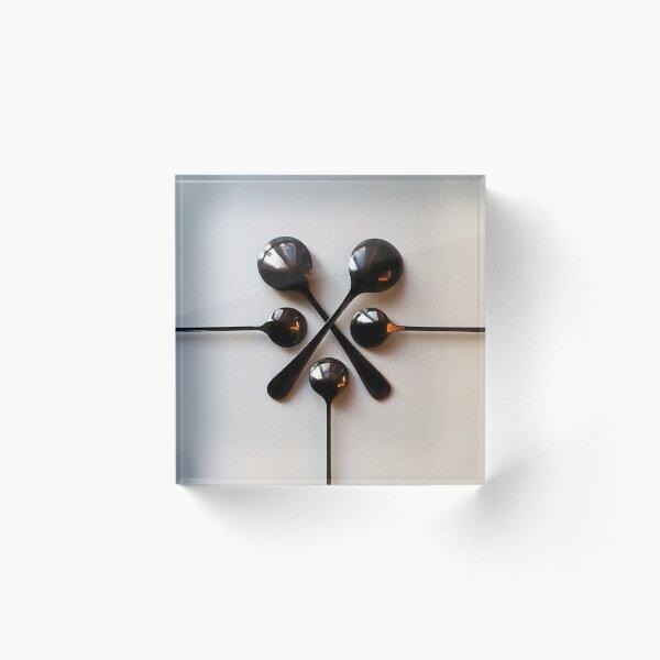Noon Spoon Acrylic Block