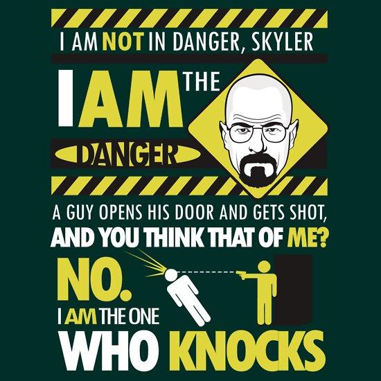 TShirtGifter presents: I Am the Danger