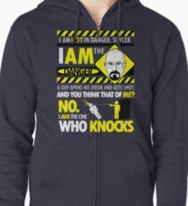 I Am the Danger Zipped Hoodie