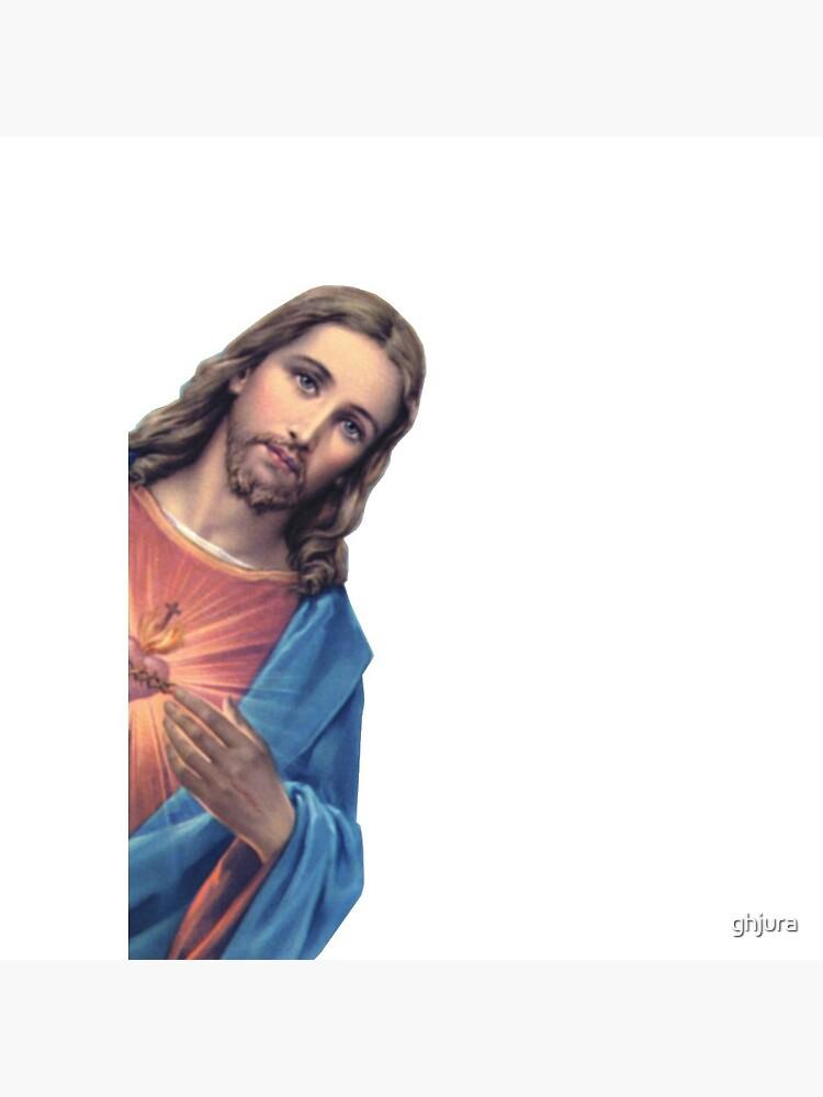 Jesus is watching you - meme by ghjura