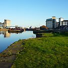 Leith Docks by Yonmei
