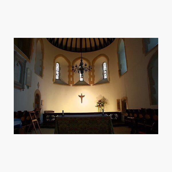 St Nicholas Bishop of Myra, Worth - Sanctuary Photographic Print