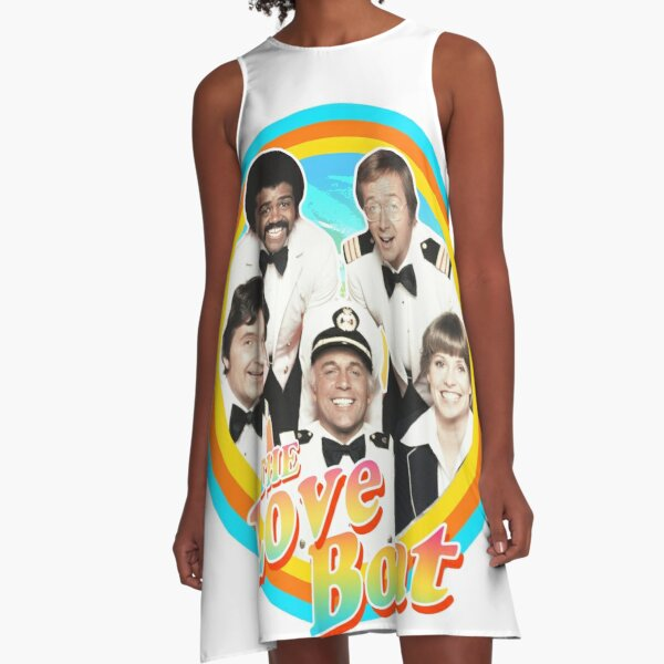 The Love Boat - Retro A-Line Dress