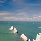 The Needles, Isle of Wight by Andrew Duke