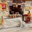 African corner store by Sher Nasser