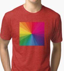 Jamie xx 'In Colour' Pantone Color Spectrum  Tri-blend T-Shirt