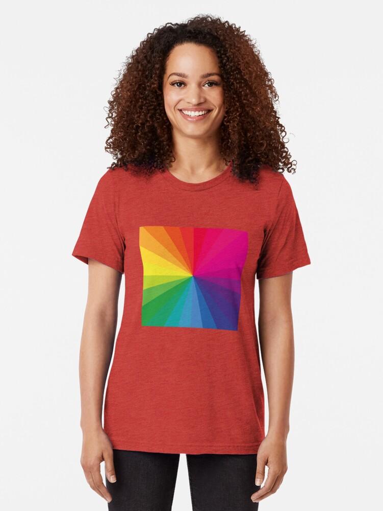 """Alternative Ansicht von Jamie xx """"In Farbe"""" Pantone Farbspektrum Vintage T-Shirt"""
