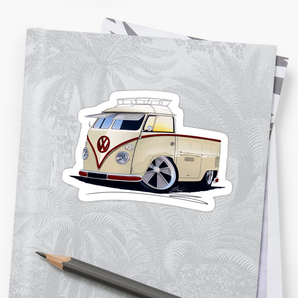 VW Splitty Pick-Up (RB) by yeomanscarart