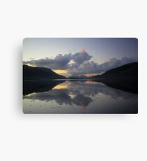 Loch Leven Sunset 2 Canvas Print