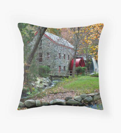 Sudbury Grist Mill Throw Pillow