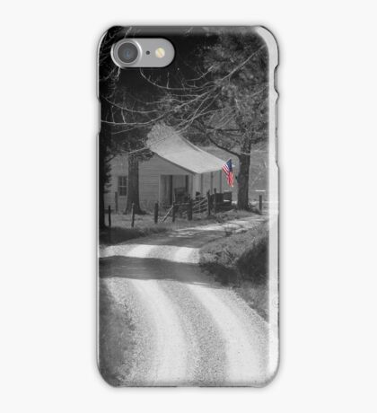 Backroad Flag iPhone Case/Skin